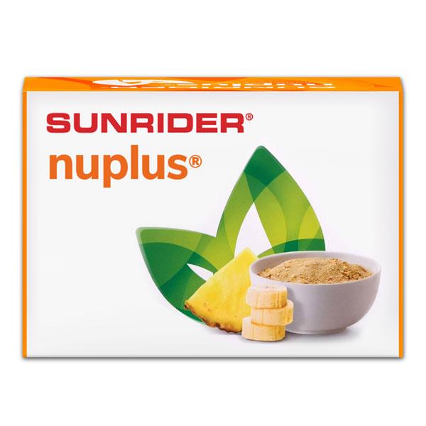 นูพลัส กล้วยและสับปะรดรส 10 ซอง